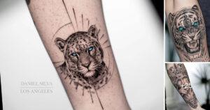 "Increibles Tatuajes del Artista ""Daniel Silva"" en los Brazos"