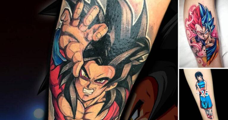 Tatuajes Inspirados en Dragon Ball por «Juan David Hurtado»