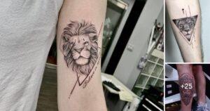 Las 31 mejores ideas de tatuajes de leones pequeños
