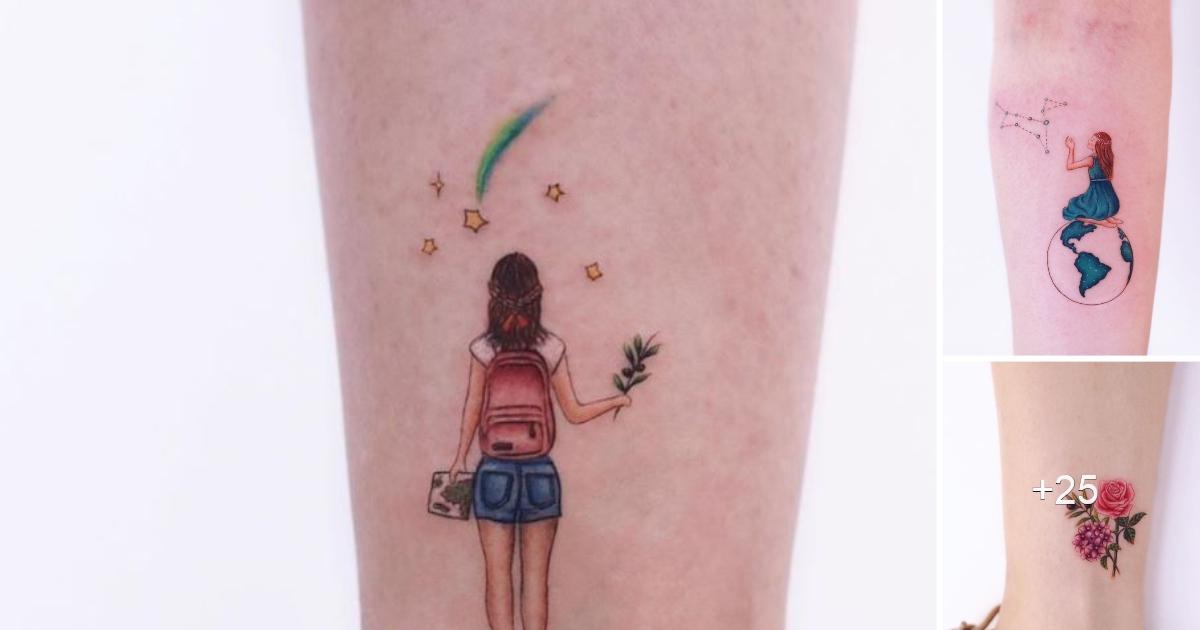 """Los Mejores Tatuajes Coloridos y Minimalistas por """"Ayhan Karadag"""""""